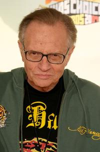 Larry King at the 20th Annual Kid's Choice Awards.