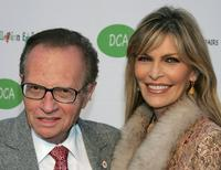 Larry King and Shawn at the opening of