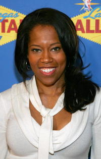 Regina King at the 2007 NBA All-Star Game in Las Vegas.