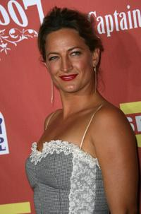 Zoe Bell at the Spike TV's