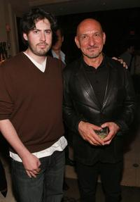 Ben Kingsley and Jason Reitman at the Toronto International Film Festival Party.
