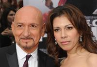 Ben Kingsley and Daniela Lavender at the California premiere of