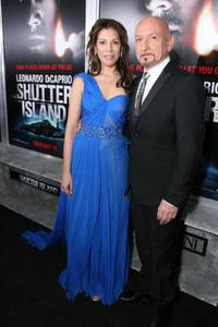 Daniella Laven and Ben Kingsley at the New York special screening of