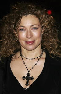 Alex Kingston at the world premier of