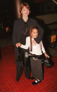 Nastassja Kinski and Kenia at the premiere of