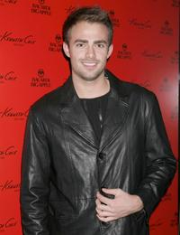 Jonathan Bennett at the new Kenneth Cole New York's Los Angeles flagship store.
