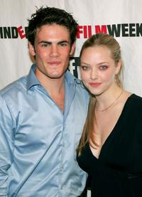 Micah Alberti and Amanda Seyfried at the IFP opening night premiere of