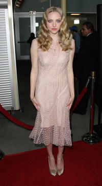 Amanda Seyfried at the California premiere of