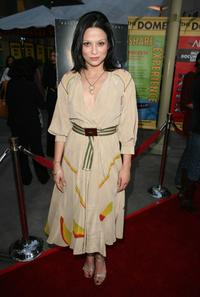 Navi Rawat at the Indian Film Festival LA premiere of
