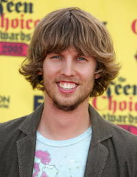 Jon Heder at the 2005 Teen Choice Awards.