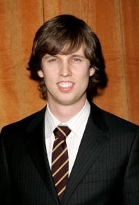Jon Heder at the Weinstein Co.'s 2006 Golden Globe after party held at Trader Vic's.