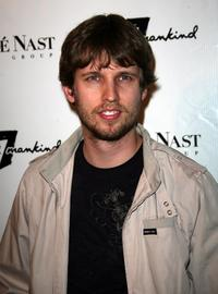Jon Heder at the 7 For All Mankind first retail store opening.