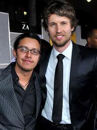 Efren Ramirez and Jon Heder at the California premiere of