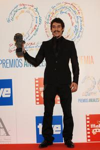 Oscar Jaenada at the Goya Cinema Awards 2006.