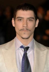 Oscar Jaenada at the Goya Cinema Awards.