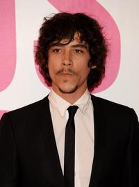 Oscar Jaenada at the 56th San Sebastian Film Festival Opening Ceremony.
