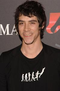 Oscar Jaenada at the Spanish premiere of