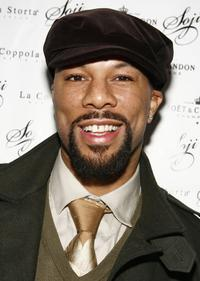 Common at the launch of Commons hat line Soji.