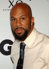 Common at the Kanye Wests 30th birthday celebration.
