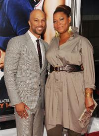 Common and Queen Latifah at the New York premiere of