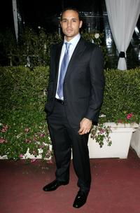 Daniel Sunjata at the Fox Golden Globe After Party.