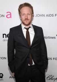 David Sullivan at the 21st Annual Elton John AIDS Foundation Academy Awards Viewing party in California.