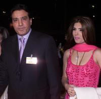 Javed Sheikh and Resham at the Bollywood Zee Cine Awards ceremony.