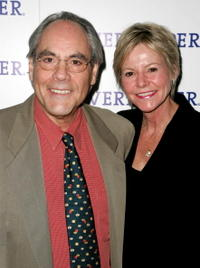 Robert Klein and his wife Jennifer Zweibel at the 11th annual Riverkeeper Benefit gala honoring the Hearst Corporation.
