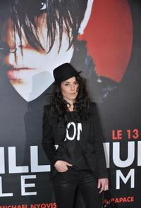 Noomi Rapace at the screening of