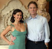Kevin Kline and Ashley Judd at the presentation of their film