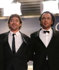 Javier Bardem and director Alejandro Gonzalez Inarritu at the 63rd Annual Cannes Film Festival.