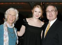 Frances Stern Hagen, Lily Rabe and Show Producer Todd Haines at the after party for the Heartbreak House debut.