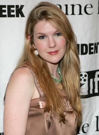 Lily Rabe at the IFP opening night premiere of