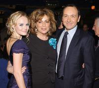 Caroline Aaron, Kate Bosworth and Kevin Spacey at the AFI Fest after party for the premiere of
