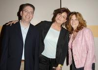 Caroline Aaron, Bill Prady and Carol Leifer at the