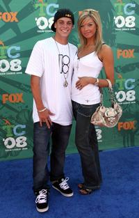 Ryan Sheckler and Guest at the 2008 Teen Choice Awards.
