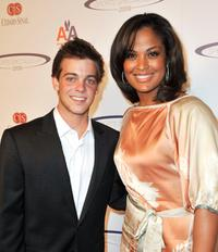 Ryan Sheckler and Laila Ali at the Cedars Sinai Medical Center's 24th Annual Sports Spectacular.