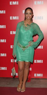 Mya Harrison at the EMI Post Grammy Party.