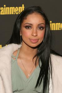 Mya Harrison at the Entertainment Weekly's Oscar Viewing Party.
