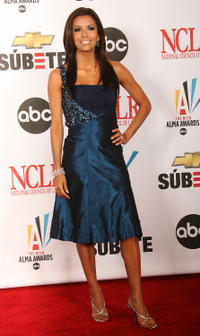 Eva Longoria Parker at the 2007 NCLR ALMA Awards in Pasadena, California.