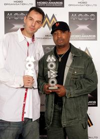Chuck D and Guest at the MOBO Awards 2005.