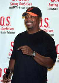Chuck D at the BET, National Urban League and Red Cross Benefit Concert.