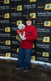 Josh Flitter at the Animal Fair Magazines Second Annual Toys for dogs Holiday Party.