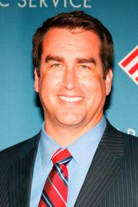 Rob Riggle at the Partnership of Public Service's gala honoring Raymond W. Kelly.