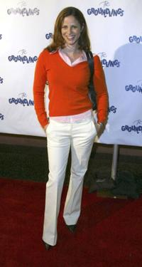Andrea Savage at the Groundlings 30th Anniversary Gala.