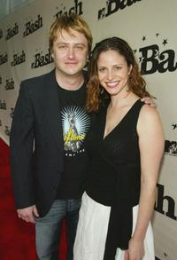 Chris Hardwick and Andrea Savage at the MTV's Bash.
