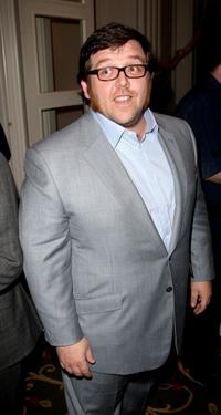 Nick Frost at the drinks reception during the Sony Ericsson Empire Awards 2008.