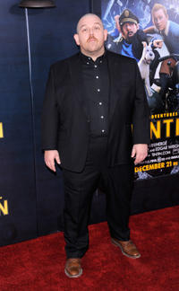 Nick Frost at the New York premiere of