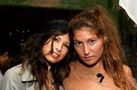 Stella Schnabel and Guest at the Moet & Chandon and Joanna Newsom Celebrate Rodarte's Spring 2009 Collection.