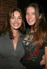Olatz Schabel and Stella Schnabel at the screening of